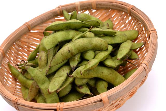 炭水化物ダイエット決め手は枝豆