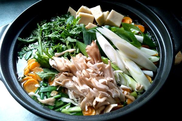 きのこ鍋でダイエット