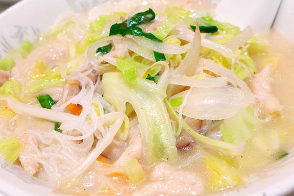 どっさり野菜スープ