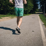 ジョギング半年で10kg減量