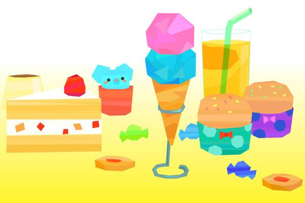 お菓子やジュース