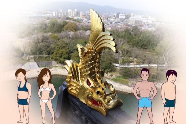 名古屋城鯱