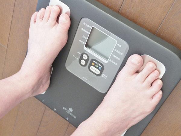 体重チェック