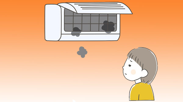 エアコンの故障