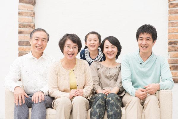 健康家族は笑顔がいっぱい!