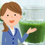 朝食を青汁に置き換え体調良好