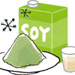 青汁+豆乳