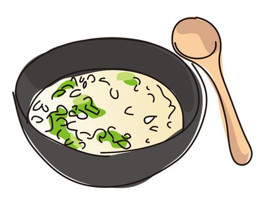 玄米の雑炊