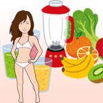 朝食前のスムージー半年で6㎏痩せ