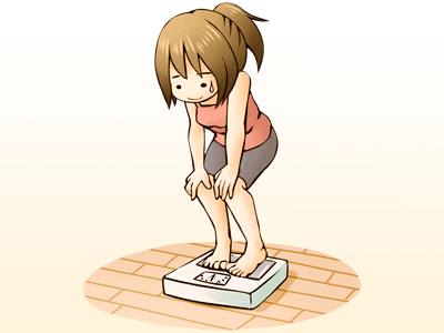 体重増えた…