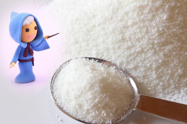 飲めば痩せる魔法の白い粉!?