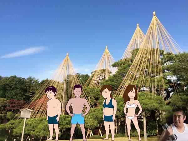 金沢/石川県のダイエットジム・フィットネス