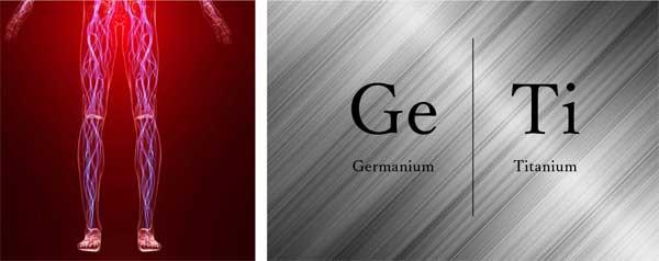 ゲルマニウム&チタン加工で効果的に燃焼