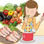 鶏肉と野菜のダイエットスープレシピ♪