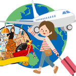 海外旅行へ行くためにダイエット